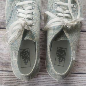 NWOT Vans floral shoes size 8.5